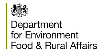 Department for Environment Food & Rural Affairs logo