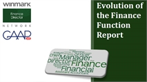 Evolution of the Finance Function